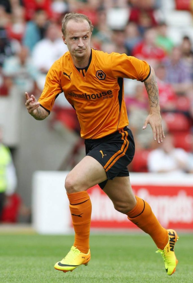 Leigh Griffiths - Wolverhampton Wanderers during the Pre Season Friendly  - Oakwell 13/14 match between Barnsley and Wolverhampton Wanderers. 20/7/13 Mandatory Credit: Action Images / Ed Sykes
