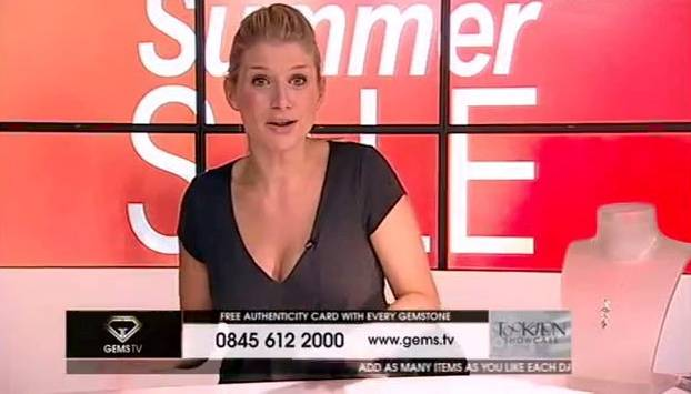 Shopping channel presenter wins payout over obscene gesture on live TV