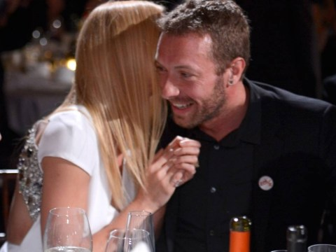Get a room: Gwyneth Paltrow and Chris Martin's PDA at charity gala