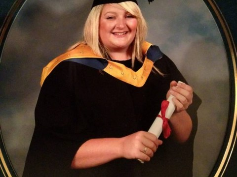 Student scared into losing 5st after getting too fat to breathe