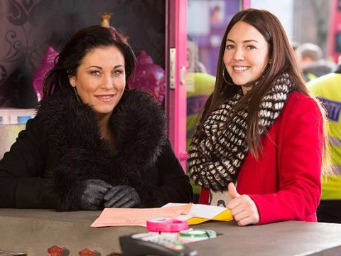 Watch out Max, Stacey Slater is back! Lacey Turner beams as she films first scenes for EastEnders comeback
