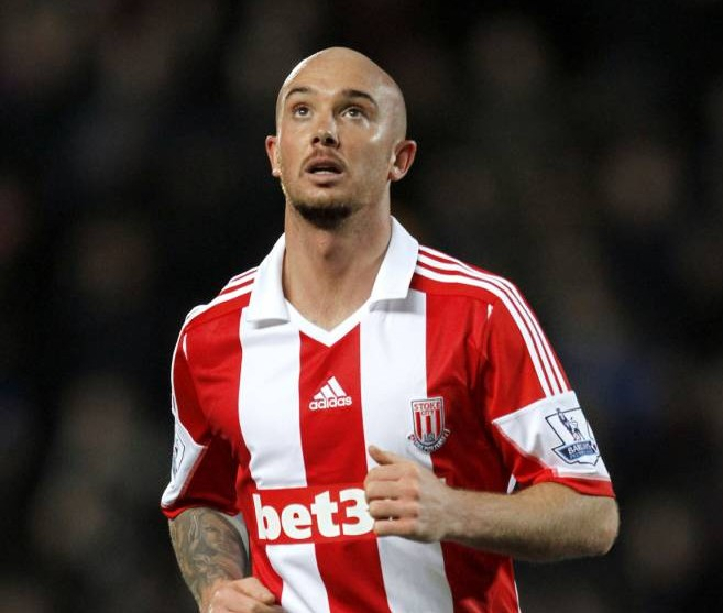 File photo dated 14/12/2013 of Stephen Ireland, Stoke City. PRESS ASSOCITAION Photo. Issue date: Tuesday January 14, 2014. Stoke have announced the permanent signing of Stephen Ireland from Aston Villa on their official website. Ireland was on a season-long loan from Villa. See PA story SOCCER Stoke. Photo credit should read: Richard Sellers/PA Wire.