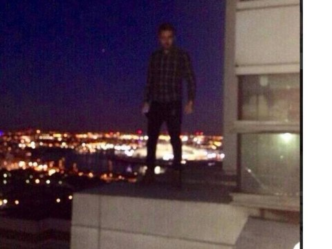 Liam Payne grovels to fans after posing for 'stupid and irresponsible' picture on 360ft high roof ledge