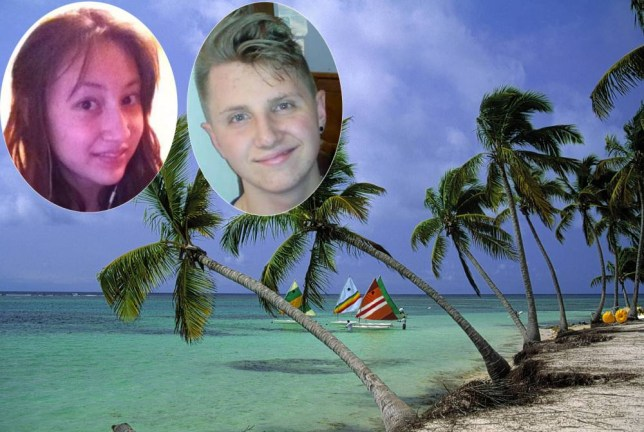 Public school runaways found 'safe and well' at Caribbean beach resort