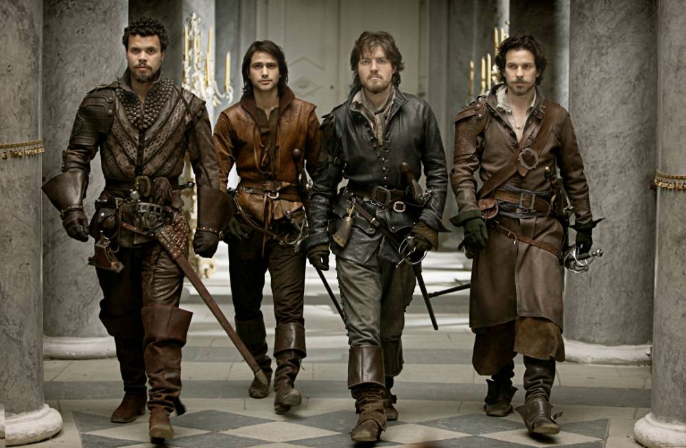 The Musketeers series 2 to bring on the sex and violence for a post-watershed audience