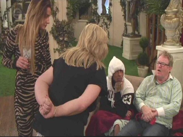 Linda Nolan and Jim Davidson - Celebrity Big Brother 2014