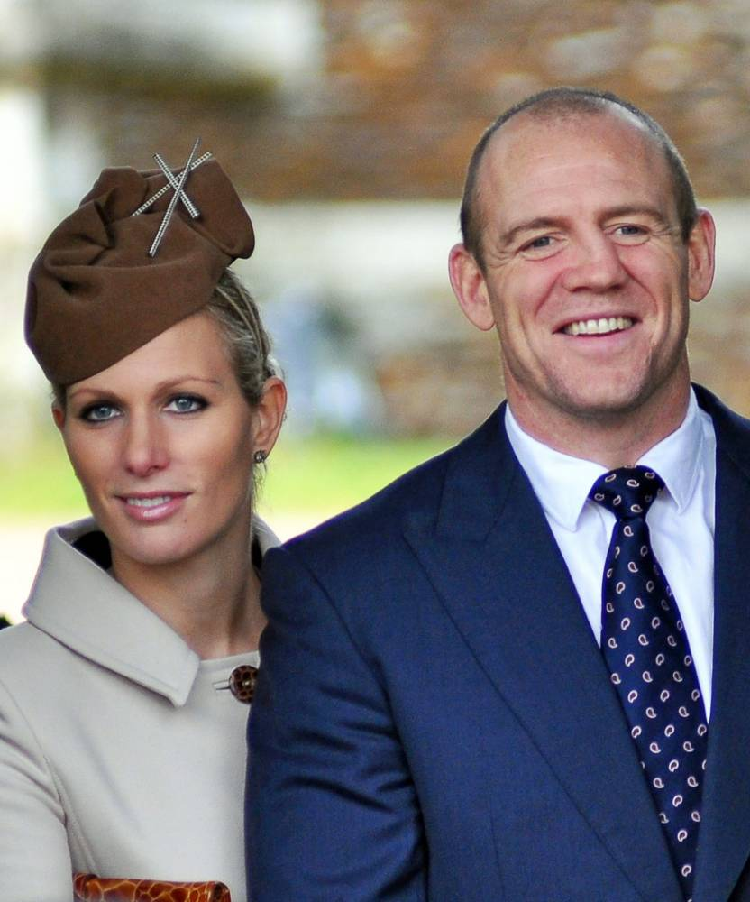 Zara Phillips and Mike Tindall name baby Mia Grace
