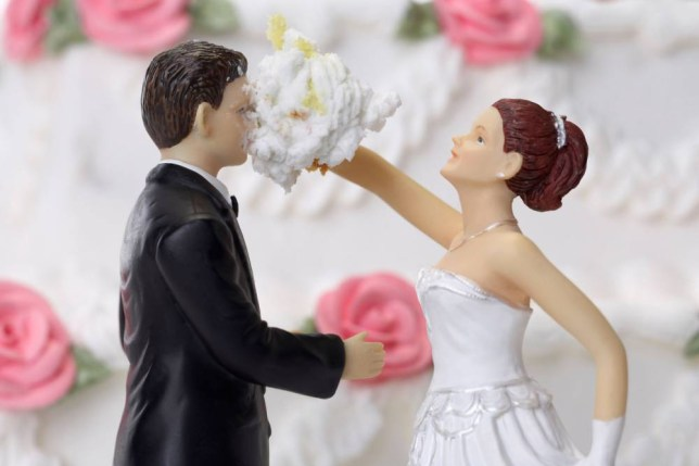 Financial woes and exless marriages are two things to blame for divorces (Picture: Alamy)