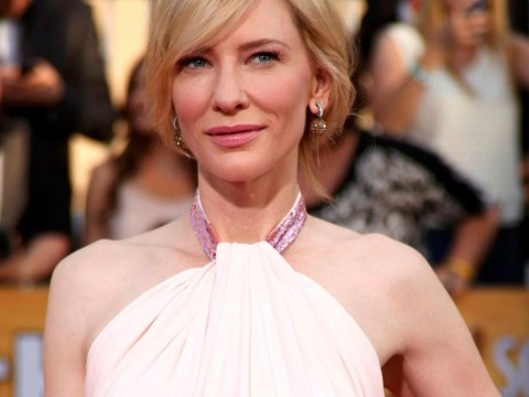 Cate Blanchett offers statue penis to Blue Jasmine co-star Sally Hawkins at Screen Actors Guild awards