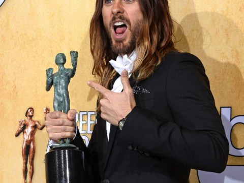 Jared Leto may be one step closer to an Oscar after triumphing at the Screen Actors Guild awards