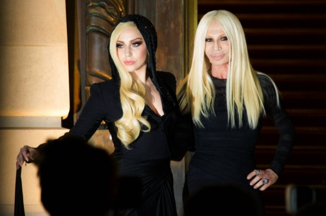 Look to the future: Lady Gaga and Donatella Versace look eerily