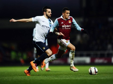 Manchester City sweat on fitness of Alvaro Negredo after West Ham injury