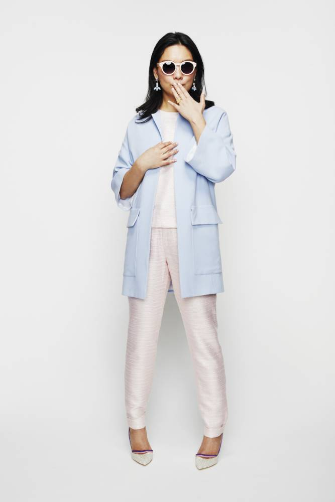 How to wear pastels with help from Emma Cook, Cadenzza and Jessie Western