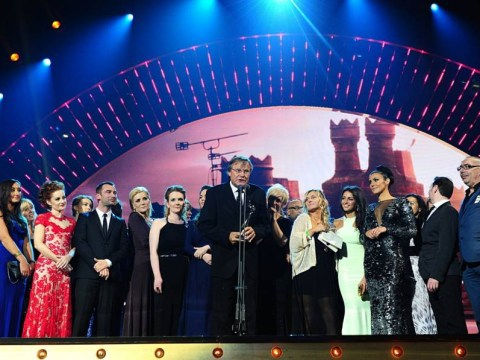 Third time lucky! Coronation Street beats EastEnders to best soap gong at National Television Awards yet again
