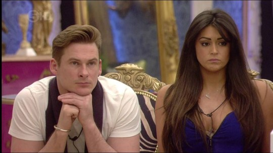 Lee Ryan and Casey Batchelor Celebrity Big Brother