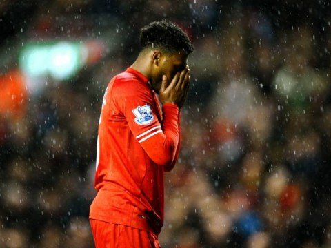 Liverpool's Daniel Sturridge blazes penalty over the bar to miss out on Merseyside derby hat-trick