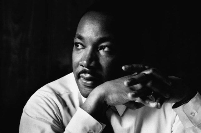 Martin Luther King Jr. listens at a meeting of the SCLC, the Southern Christian Leadership Conference, at a restaurant in Atlanta. The SCLC is a civil rights organization formed by Martin Luther King after the success of the Montgomery bus boycott. Image by Flip Schulke/CORBIS Atlanta, Georgia, USA