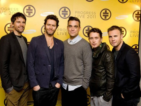 'Studio today with the boys…excited:' Howard Donald and Gary Barlow hint at new Take That material