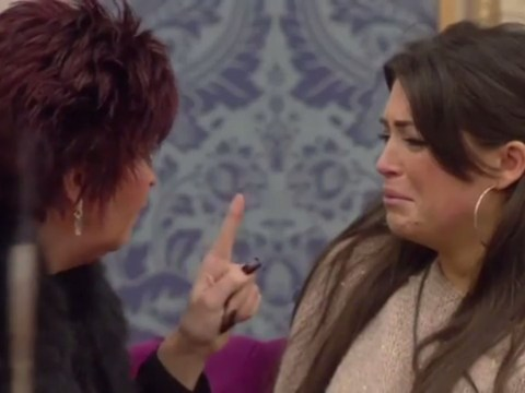 'Keep away from Lee. He has mugged you off': Casey's mum enters the Celebrity Big Brother house. Cue plenty of squirming from Lee