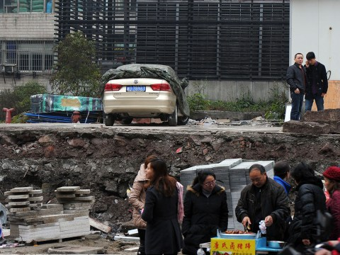 Trouble finding a space? Motorist finds vehicle stranded after car park demolition