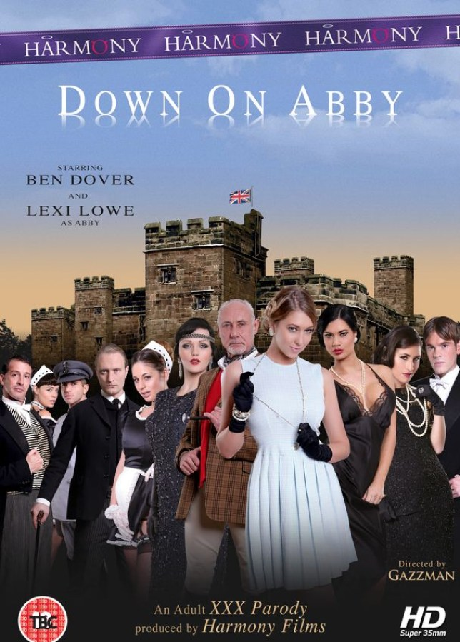 Downton Abbey gets the porn treatment (Picture:  Harmony Films)