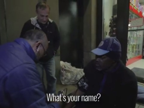 Doctor dresses up as homeless man to treat people living on the streets