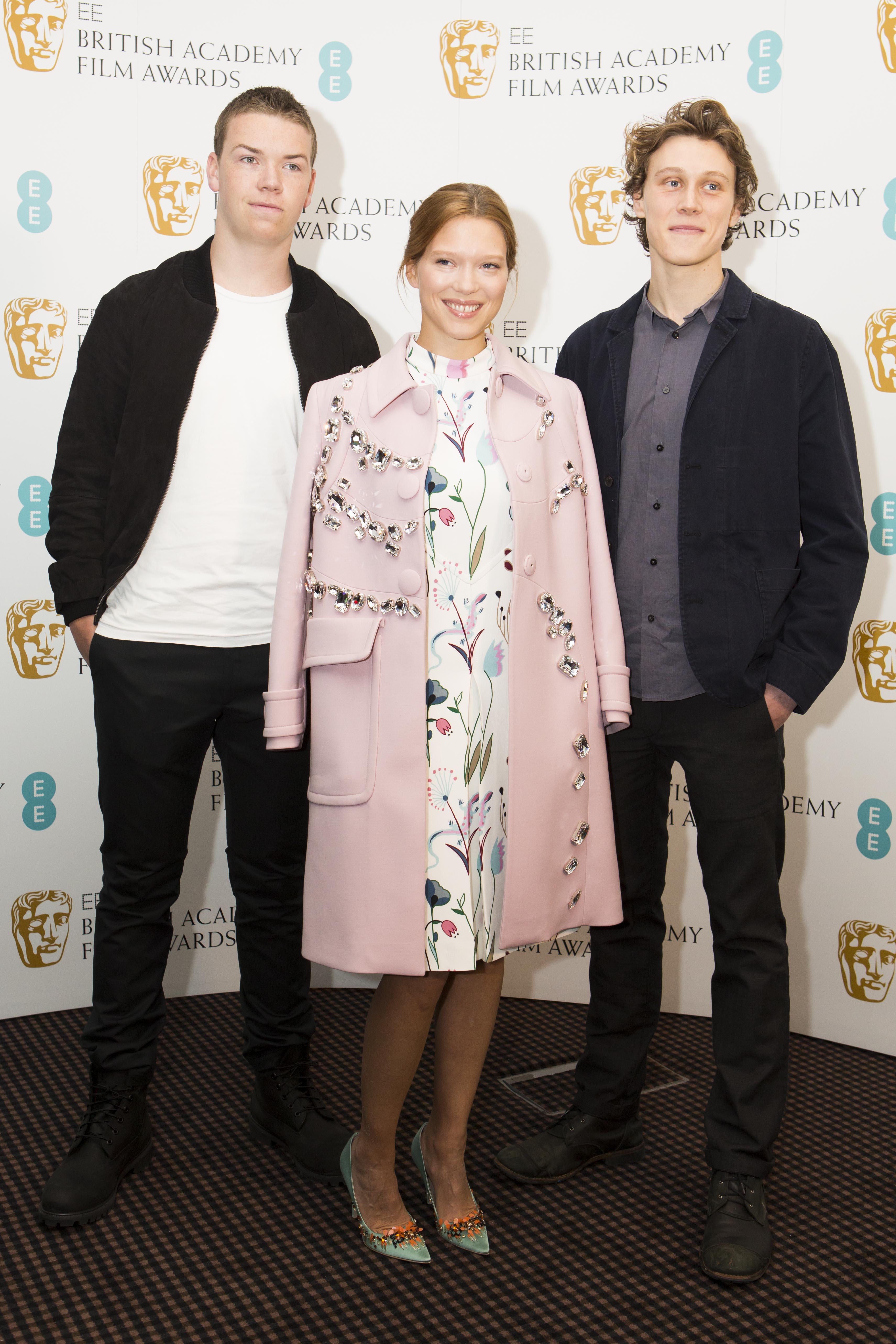 BAFTA EE Rising Star: Léa Seydoux and Will Poulter among 2014 nominees