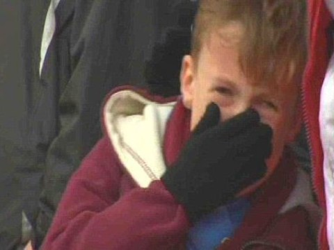 Hammer horror has happy ending as crying kid at Nottingham Forest is now 'bigger fan than ever'