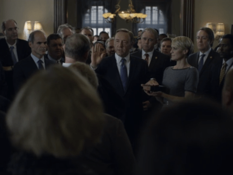 House Of Cards, season two, episode two, Netflix: 'Democracy is so overrated'