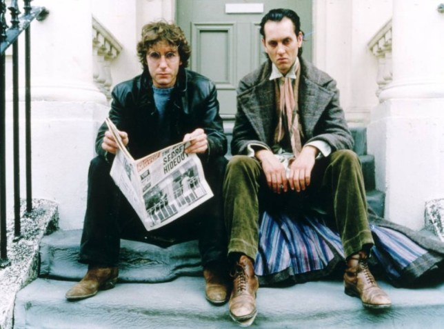 Paul Tanter says it was the dialogue in Withnail & I that made him want to write films (Picture: Supplied)
