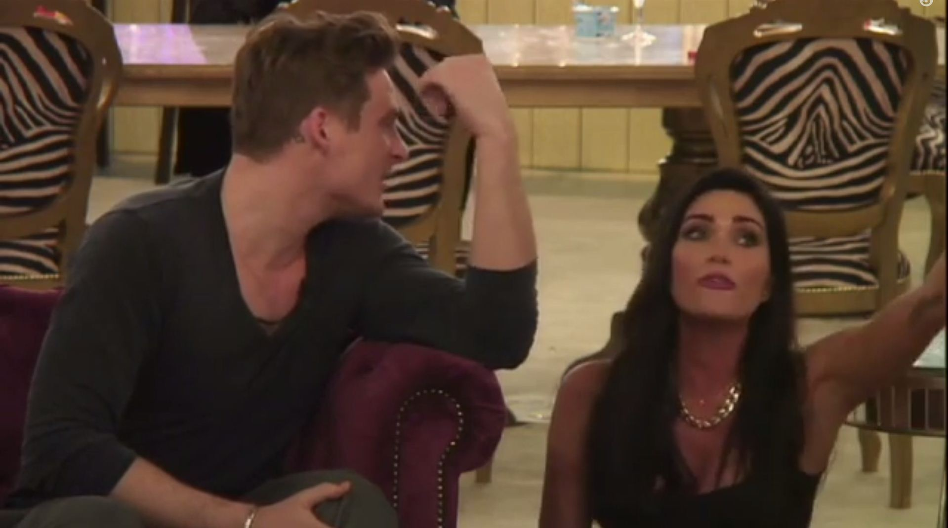 Celebrity Big Brother 2014: Jasmine Waltz breaks down in tears during explosive heart-to-heart with Lee Ryan