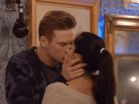 Celebrity Big Brother 2014: Lee Ryan and Jasmine Waltz snog in public, Casey Batchelor goes ballistic