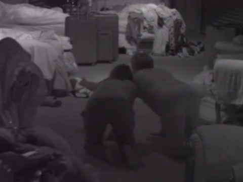 Celebrity Big Brother 2014: Luisa Zissman and Jim Davidson kiss and make up as they dive into bed with Casey and Lee