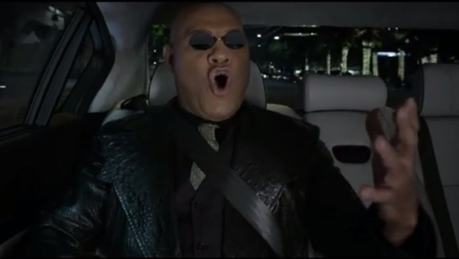 We're not sure why Morpheus is singing opera but we'd like him to stop (Picture: Kia/YouTube)