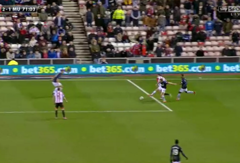 Did Sunderland deserve a penalty after Tom Cleverley's clash with Adam Johnson?