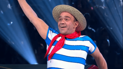 Dancing on Ice 2014, week three: Todd Carty is sunk by ropey gondolier routine and skates off the show