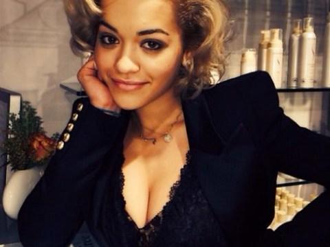 Rita Ora reveals new Fifty Shades of Grey look as Mia