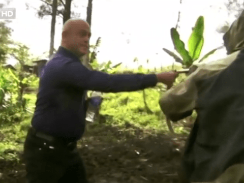 Sweary Ross Kemp lashes out at gunmen in Extreme World 3: Papua New Guinea bust-up