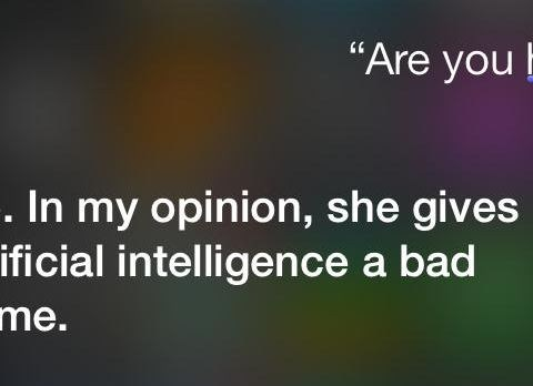 Siri isn't a fan of Spike Jonze's Her