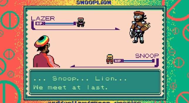 Surprise Reggae Reinvention, I choose you! (Picture: YouTube)