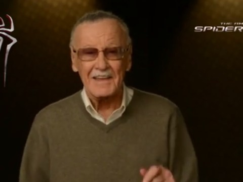 The Amazing Spider-Man 2 trailer introduced by Stan Lee