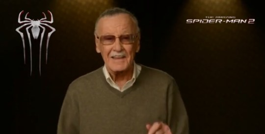 Stan Lee introduces a new teaser trailer for The Amazing Spider-Man 2 (Picture: YouTube)
