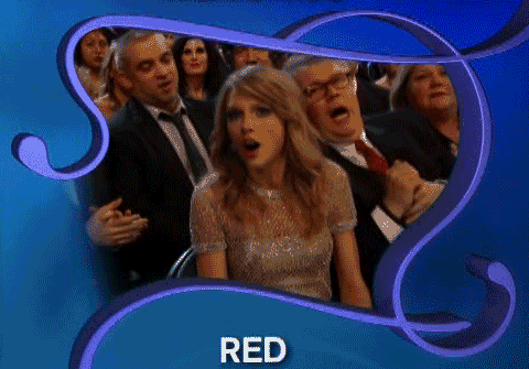 Taylor Swift thinks she's won album of the year at the Grammys (but hasn't)