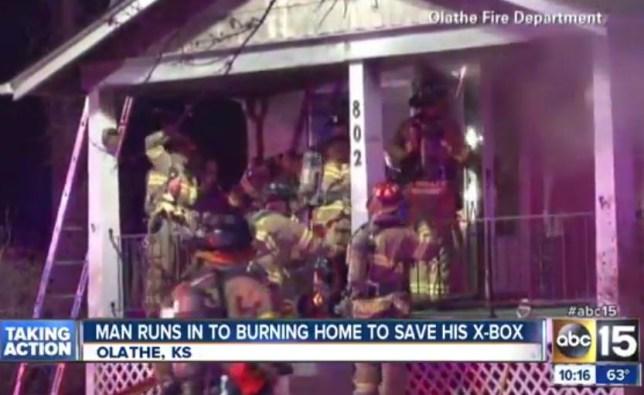 Xbox fire, Kansas