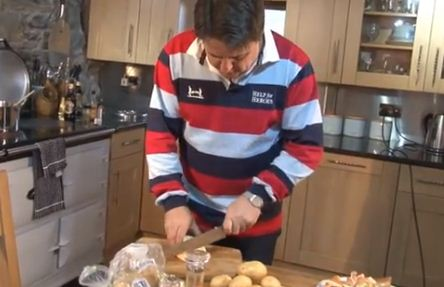 Nick Griffin is the new Jamie Oliver in BNP TV cookery programme