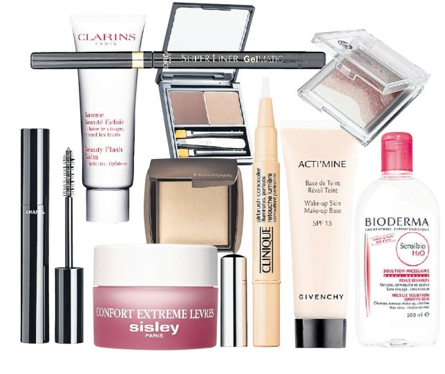Backstage favourites include Clarins Beauty Flash Balm and Clinique Airbrush Concealer (Pictures: supplied)