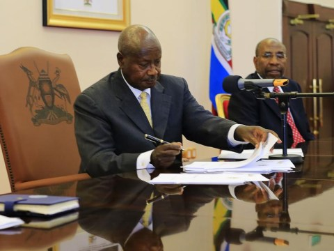 Homosexuals face life in jail after Uganda leader signs anti-gay law