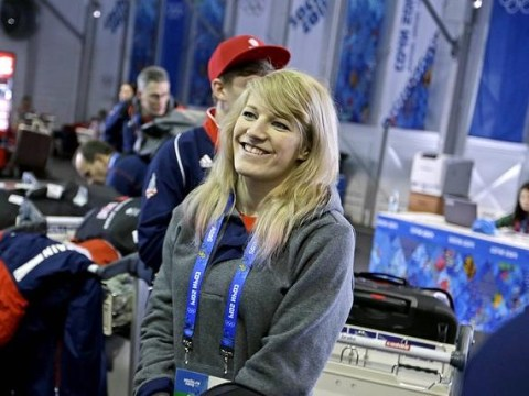 Sochi 2014 Winter Olympics: Elise Christie happy to be a hot favourite as the Games begin in sunny Sochi