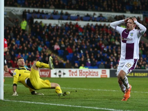 Watch David Marshall pull off the wonder save which denied Aston Villa's Andreas Weimann