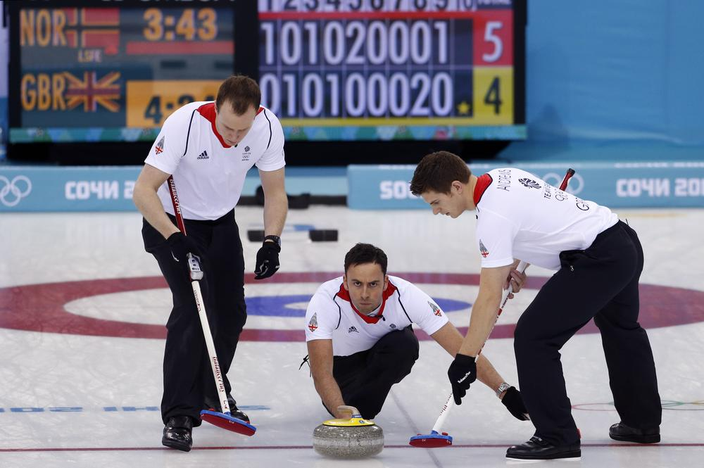 Sochi Winter Olympics 2014: Britain's men win dramatic semi-final to guarantee curling silver